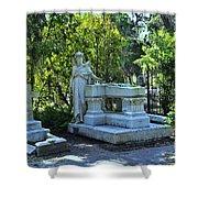 Bonaventure Cemetery 2 Shower Curtain