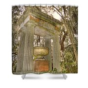 Bonaventure Statue Shower Curtain