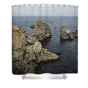 Bonavista Rocks Shower Curtain