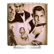 Bond The Golden Years Shower Curtain