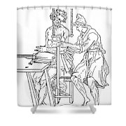 Bone Fracture Repair Shower Curtain