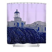 Bonita Lighthouse Shower Curtain
