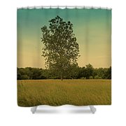 Bonner Springs Tree  Shower Curtain