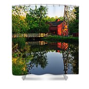 Bonneyville Mill Shower Curtain