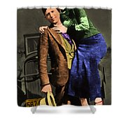 Bonnie And Clyde 20130515 Shower Curtain