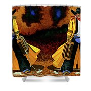 Bonnie And Clyde Shower Curtain