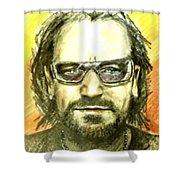 Bono - U2 Shower Curtain