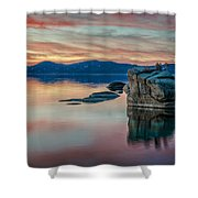 Bonsai Sunset 2 Shower Curtain