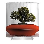 Bonsai Shower Curtain