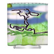 Bonsai Tree Shower Curtain