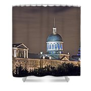 Bonsecours At Night Shower Curtain