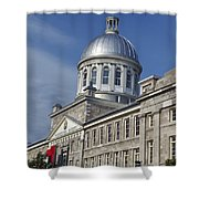 Bonsecours Market Montreal Shower Curtain