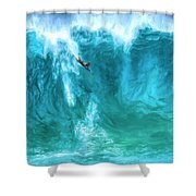Boogie On Down Shower Curtain