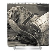 Boot Scootin Shower Curtain