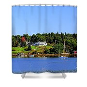 Booth Bay Shower Curtain