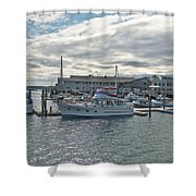 Boothbay Harbor 0231 Shower Curtain