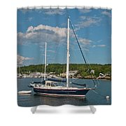 Boothbay Harbor 1390 Shower Curtain