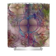 Bootyful - Square Version Shower Curtain
