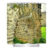 Boppard Germany Ruins Shower Curtain