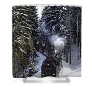 Borckenbahn Shower Curtain