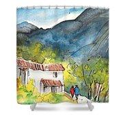 Borgo In Italy 01 Shower Curtain