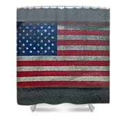 Born In The Usa Shower Curtain