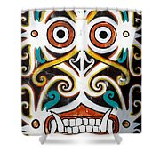 Borneo Shield Ornaments  Shower Curtain