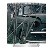 Bornholm Volvo Shower Curtain