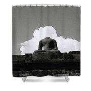Borobudur Surreal Shower Curtain