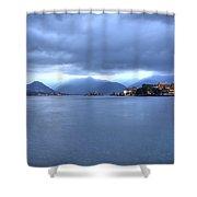 Borromean Islands Shower Curtain