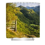 Borrowdale Valley - Lake District Shower Curtain