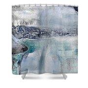 Borzoi II Shower Curtain