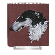 Borzoi Shower Curtain