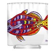 Boseman's Rainbowfish Shower Curtain