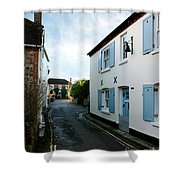 Bosham Hight Street West Sussex Shower Curtain