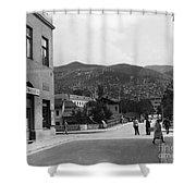 Bosnia - Sarajevo C1947 Shower Curtain