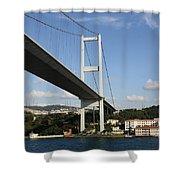 Bosphorus Bridge Istanbul Shower Curtain