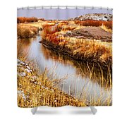 Bosque Canal Shower Curtain