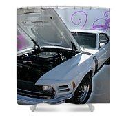 Boss 302 Mustang Shower Curtain