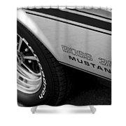 Boss 351 Mustang Shower Curtain