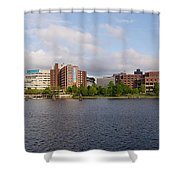 Boston - Zakim Bridge Shower Curtain