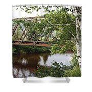 Boston And Maine Railroad - Bretton Woods New Hampshire Usa Shower Curtain