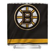 Boston Bruins Uniform Shower Curtain
