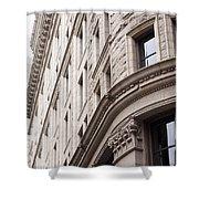 Boston Building Shower Curtain