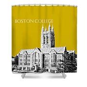 Boston College - Gold Shower Curtain