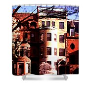 Boston Colors Two Shower Curtain