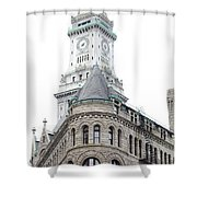 Boston Corner Shower Curtain