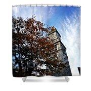 Boston Custom Autumn Shower Curtain