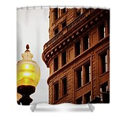Boston Gas Light Shower Curtain