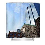 Boston Ma Architecture 2 Shower Curtain